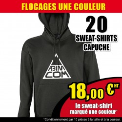 20 SWEAT-SHIRTS capuches...