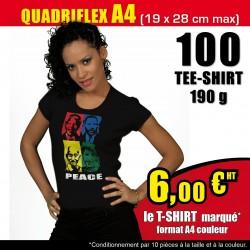 Offre spéciale 100 t-shirts...